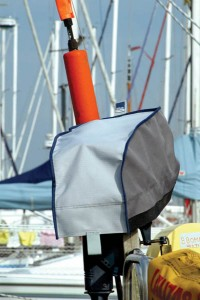 Blue Performance Outboard Cover 3