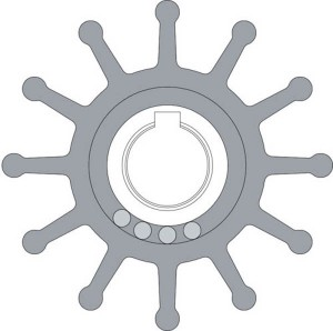 Johnson Impeller 09-702B-1