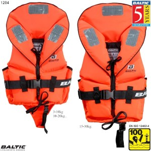 Pro Sailor rednings vest-Orange-Baby--50 cm. bryst