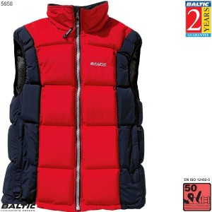 Surf & Turf Trend Dame flydevest-Rød/Navy-Small-82-90 cm. bryst