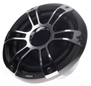 Fusion 10 Subwoofer Chrome + LED