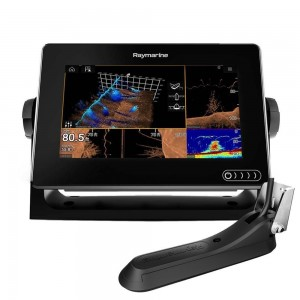 "Raymarine AXIOM 7"" Multifunktionsdisplay m intergreret 600w sonar, RealVision og RV100 Transducer"