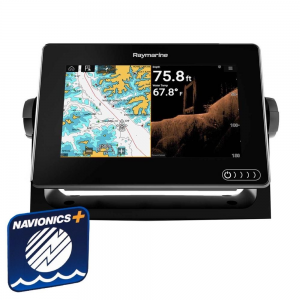 "Raymarine AXIOM 7"" Multifunktionsdisplay m intergreret 600w sonar, DownVision og Navionics+ small"