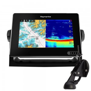 "Raymarine AXIOM 7"" Multifunktionsdisplay m intergreret 600w sonar, DownVision og CPT-S Transducer"