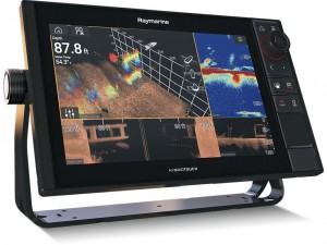 "Raymarine AXIOM 12 PRO-S, HybridTouch 12"" Multifunktions display ned intergreret HIGH CHIRP Konisk sonar til CPT-S"