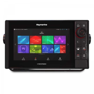 "Raymarine AXIOM 9 PRO-S, HybridTouch 9"" Multifunktions display ned intergreret HIGH CHIRP Konisk sonar til CPT-S"